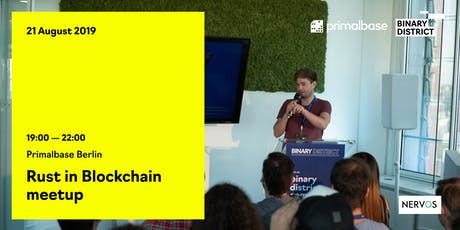 Rust in Blockchain meetup Tickets