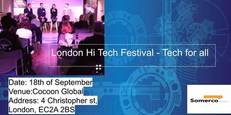 London Tech Festival - Tech for all tickets