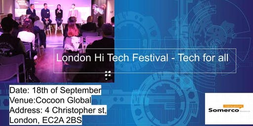 London Tech Festival - Tech for all