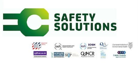 IOSH Working Safely Course tickets