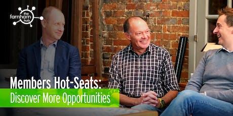 Hub Member 'Hot-Seats' tickets