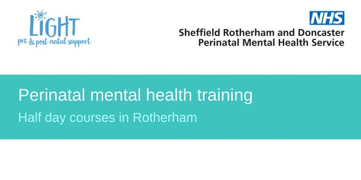 Perinatal Mental Health Training