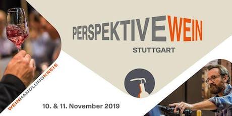 Perspektive Wein 2019 Tickets