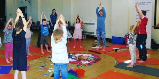 Body, Mind & Heart Kids (4-11) Yoga & Mindfulness Class in Horsforth Park