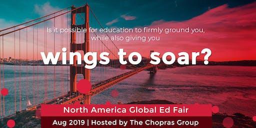 North America Global Ed Fair 2019 in Kochi