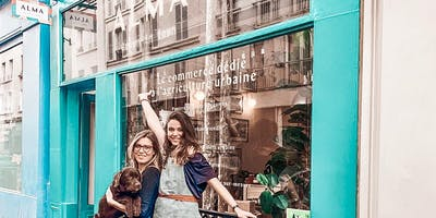 SAVE the DATE - Inauguration de la boutique ALMA Grown in town !