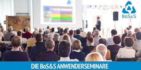 BoS&S Anwenderseminar 2019 in Pforzheim Tickets
