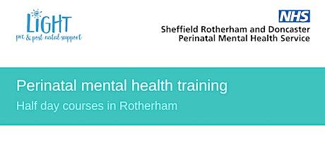 Perinatal Mental Health Training tickets