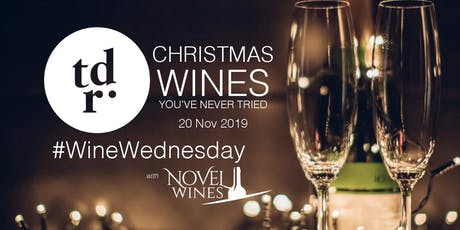 The Drawing Rooms #WineWednesday Club: Christmas Wines You've Never Tried tickets