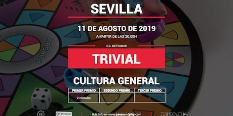 Trivial Cultura General en SEVILLA C.C. METROMAR entradas