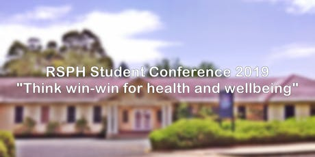 Research School of Population Health (RSPH) Student Conference 2019 tickets