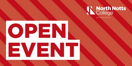 North Notts College - Worksop Campus - Open Event tickets