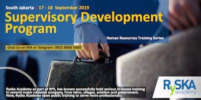 Supervisory Development Program