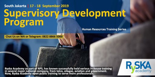 Supervisory Development Program