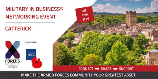 Military in Business Networking Event: Catterick
