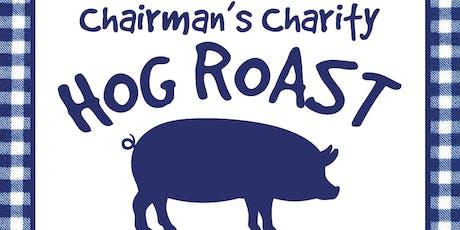 Chairman's Charity Hog Roast tickets