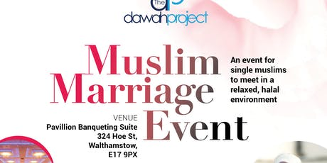Muslim Marriage Event in London tickets