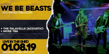 We Be Beasts // The Shed // 01.08.2019 tickets