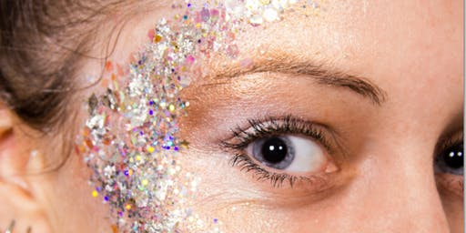 Festival body, face and body art with glitter course