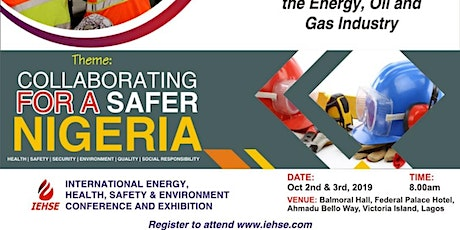 Collaborating For An Energy Safe Nigeria tickets