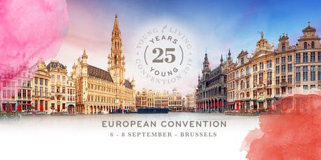 2019 European Convention - Brussels  tickets