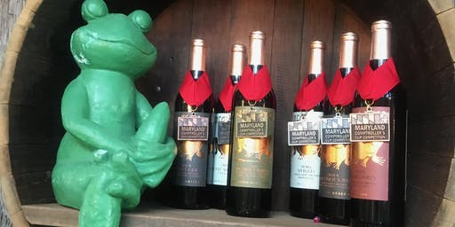Great Frogs Wine Tasting Event