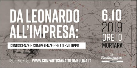 Da Leonardo all'impresa: conoscenze e competenze per lo sviluppo biglietti