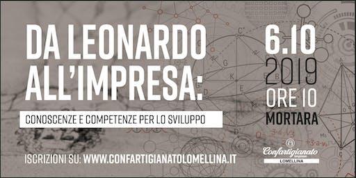 Da Leonardo all'impresa: conoscenze e competenze per lo sviluppo