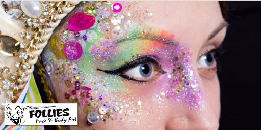 Glitter and Festival Make-up Course