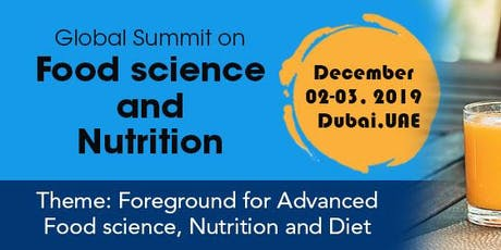 Top Food science conference 2019 tickets