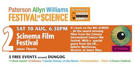 Festival of Science – SCINEMA: Science Film Festival +  filmmaker talk tickets