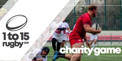 1 to 15 Charity Rugby - Match Day on Saturday 7th September 2019