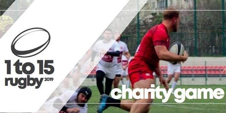1 to 15 Charity Rugby - Match Day on Saturday 7th September 2019 tickets