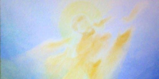 Learn veil painting - unique spiritual awakening art ~ South Australia