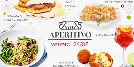 Aperitivo Ammu- Spritz Siciliani biglietti