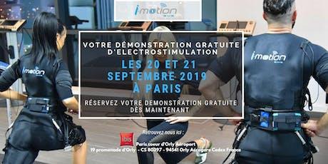 [PARIS] Démo GRATUITE d'électrostimulation par i-motion - Septembre 2019 billets