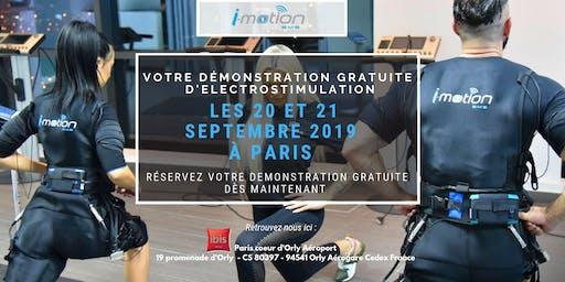 [PARIS] Démo GRATUITE d'électrostimulation par i-motion - Septembre 2019