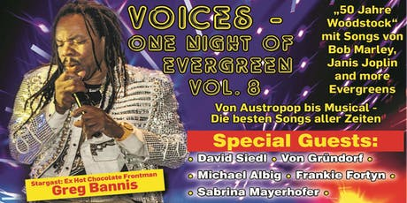 Voices - One Night of Evergreen Tickets
