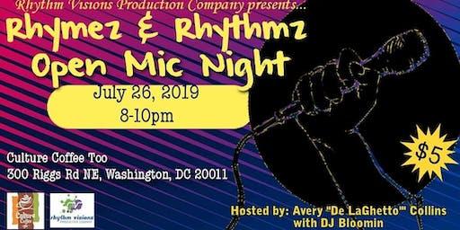 Rhymez & Rhythmz Open Mic