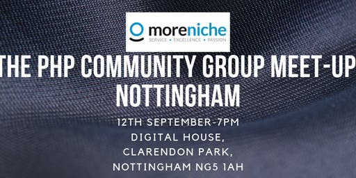 The PHP Community Group Meet-up- Nottingham