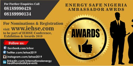Energy Safe Nigeria Ambassador Awards tickets