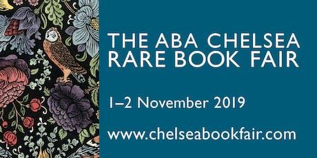 Chelsea Rare Book Fair tickets
