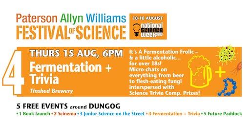 Festival of Science – Fermentation + Trivia night