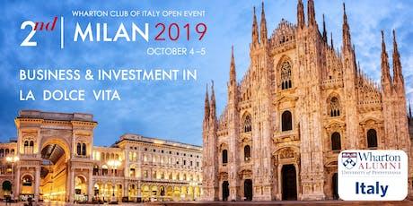 Business & Investment in La Dolce Vita biglietti