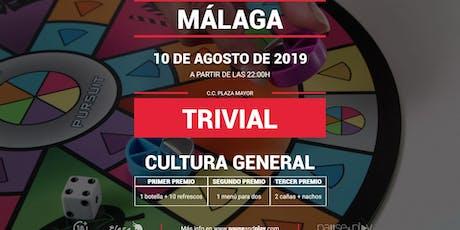 Trivial Cultura General en MÁLAGA C.C. PLAZA MAYOR entradas