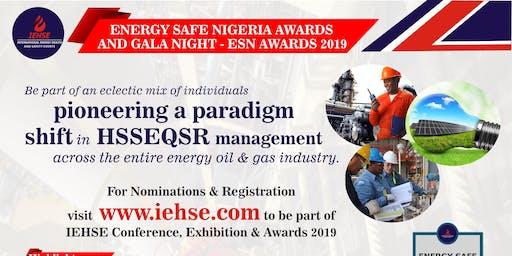 Energy Safe Nigeria Awards & Gala Night 2019