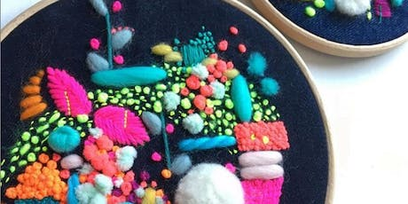 Wildfloss Abstract Embroidery Workshop tickets