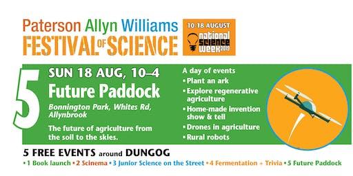Festival of Science – Future Paddock