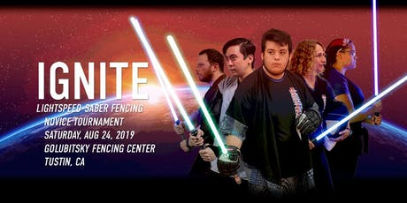 IGNITE Lightspeed-saber fencing novice competition tickets