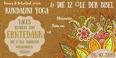 POWER-Tages-Retreat zu Erntedank mit Kundalini-Yoga und ätherischen Ölen Tickets